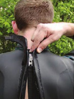 Putting on Your Aquaman Triathlon Wetsuit 11